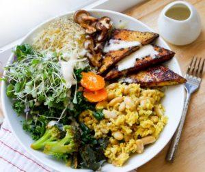 Menu Makanan Tanpa Daging Buatan Restoran Duke